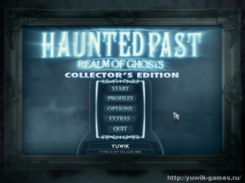 Haunted  Past:  Realm  of  Ghosts  Collector's  Edition  (2011,  Big  Fish  Games,  Eng)