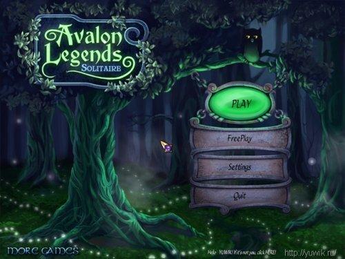 Avalon  Legends  Solitaire  (2011,  Eng)