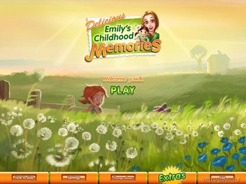 Delicious:  Emily's  Childhood  Memories  –  Premium  Edition  (2011,  Game  House,  Eng)
