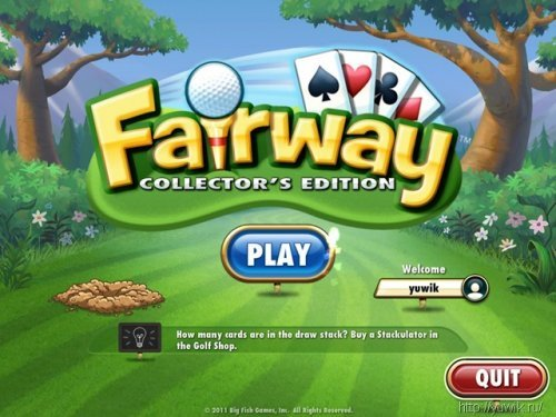 Fairway  –  Collector's  Edition  (2011,  Big  Fish  Games,  Eng)