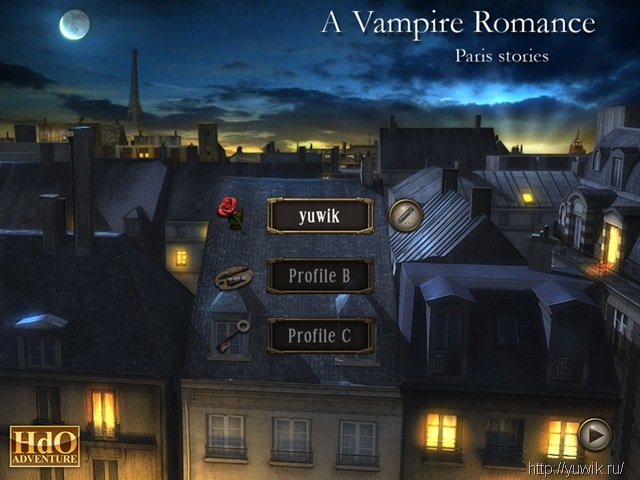 hidden objects vampire romance paris stories hdo adventure eng.