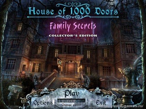 Дом  1000  дверей.  Семейные  тайны.  Коллекционное  издание  +  Прохождение  игры  (Rus)  (2011,  Alawar,  Rus)