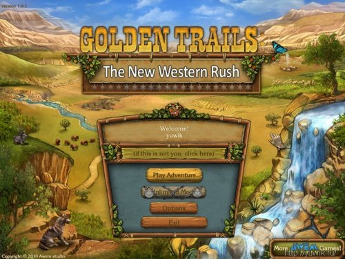 Golden Trails: The New Western Rush (2010, Eng)