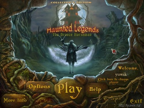 Haunted Legends: The Bronze Horseman Collector's Edition (2011, Big Fish Games, Eng)