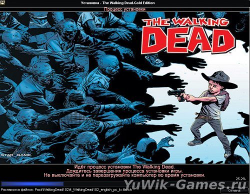 The  Walking  Dead  -  Episode  1,2  (2012,  Telltale  Games,  Rus)
