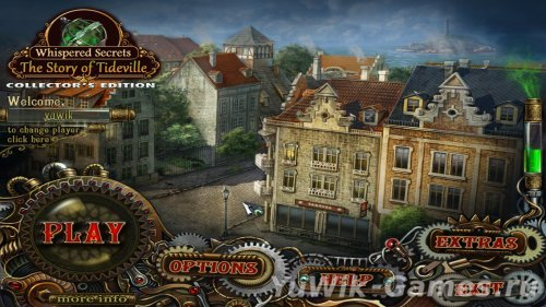 Whispered  Secrets:  The  Story  of  Tideville  CE  -  Прохождение  игры