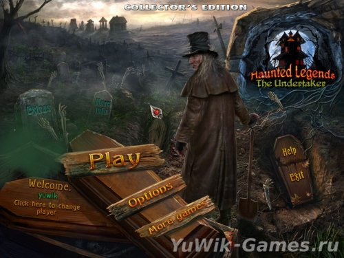Haunted  Legends  3:  The  Undertaker  CE  -  Прохождение  игры