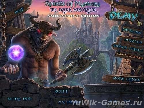 Spirits  of  Mystery  3:  The  Dark  Minotaur  CE  -  Прохождение  игры