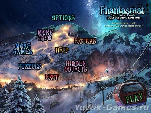 Phantasmat  2:  Crucible  Peak  CE  -  Прохождение  игры