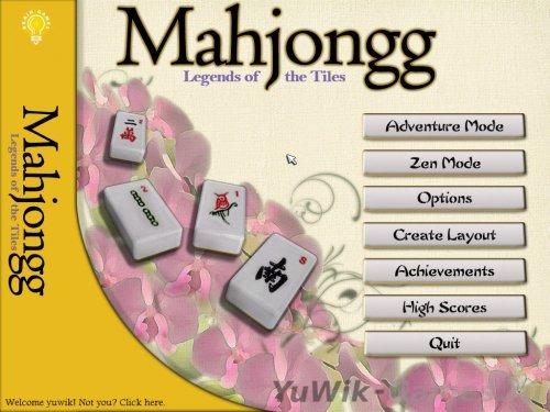 Mahjongg:  Legends  of  the  Tiles  (2013,  Eng)