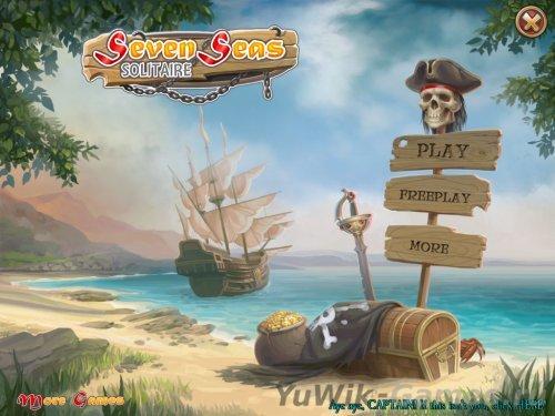 Seven  Seas  Solitaire  (2013,  Eng)