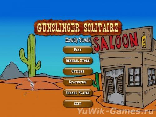 Gunslinger  Solitaire  (2013,  Eng)