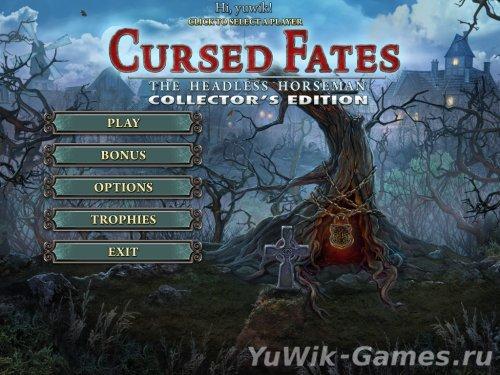 Cursed  Fates:  The  Headless  Horseman  CE  -  Прохождение  игры