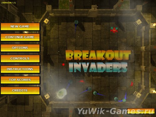 Breakout Invaders (2013, Eng)