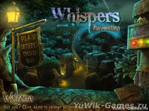 Whispers:  Revelation  -  Прохождение  игры