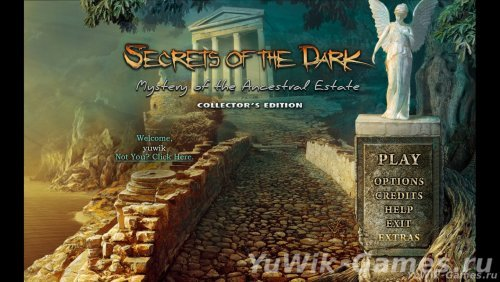 Secrets  of  the  Dark  3:  Mystery  of  the  Ancestral  Estate  CЕ  -  Прохождение  игры