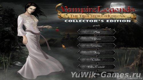 Vampire  Legends:  The  True  Story  of  Kisilova  CE  -  Прохождение  игры