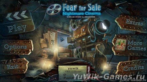Fear  for  Sale  3:  Nightmare  Cinema  CE  -  Прохождение  игры