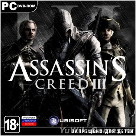 Assassin's  Creed  3.  Deluxe  Edition  v1.04  +  4  DLC  (2012/Rus/Rip  by  Dumu4)