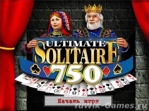 750  лучших  пасьянсов  (ПолетНавигатора/2006/Rus)