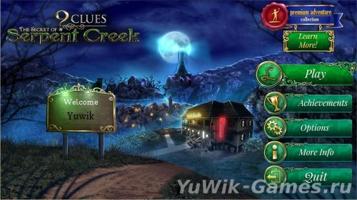 9  Clues:  The  Secret  of  Serpent  Creek  -  прохождение