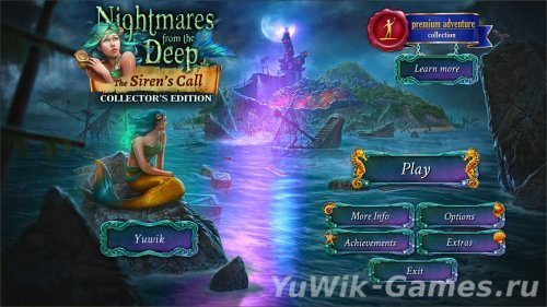 Nightmares  from  the  Deep:  The  Siren's  Call  CE  (BigFishGames/2013/Eng)
