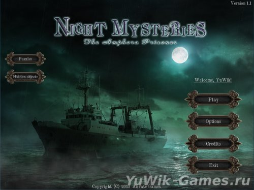 Night  Mysteries:  The  Amphora  Prisoner  -  Прохождение  игры