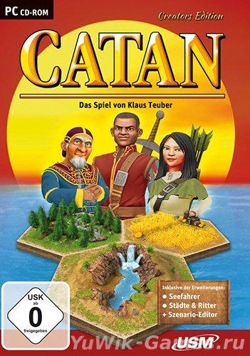 Catan:  Creator's  Edition  (USМ/2013/Eng)