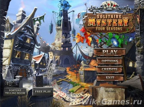 Solitaire Mystery: Four Seasons (Playrix Entertainment/2013/Eng)