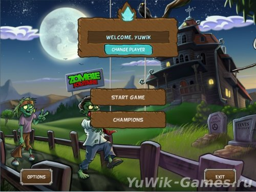 Zombie Solitaire (BigFishGames/2013/Eng)