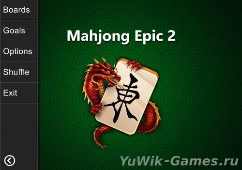 Mahjong  Epic  2  (KristanixGames/2013/Eng)