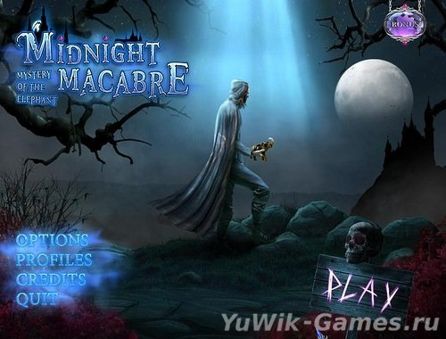 Midnight  Macabre:  Mystery  of  the  Elephant  (Game  House/2013/Eng)