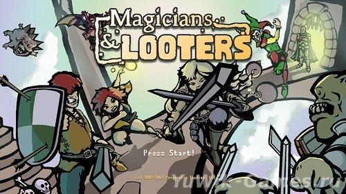 Magicians  &  Looters  (Ape  Marina/2014/Eng)