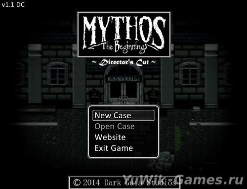 Mythos: The Beginning (Dark Gaia Studios/2014/Eng)