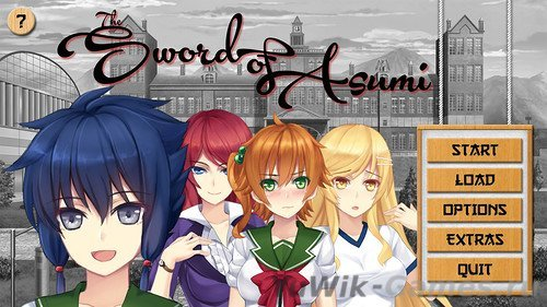 Sword  of  Asumi  (AJTilley.com/2015/Eng)