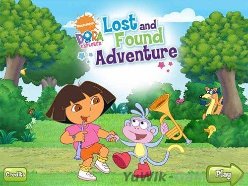 Dora's Lost and Found Adventure