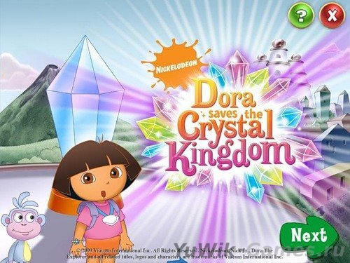 Dora  Saves  the  Crystal  Kingdom  (BigFishGames/2015/Eng)