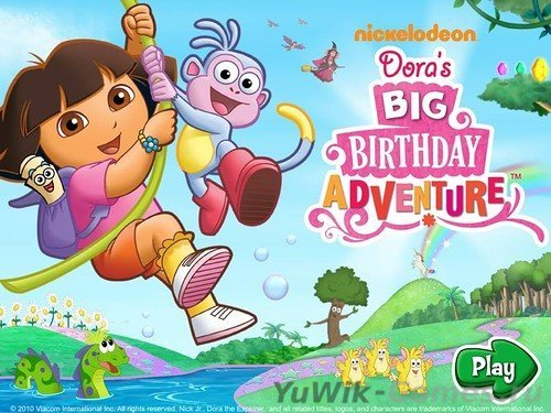 Dora's  Big  Birthday  Adventure  (Nickelodeon/2014/Rus)