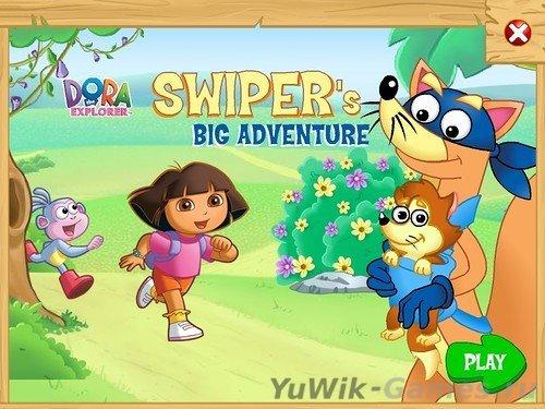 Dora  the  Explorer:  Swiper's  Big  Adventure!  [ENG]