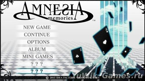 Amnesia:  Memories  [ENG]