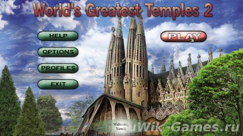 World's Greatest Temples Mahjong 2 [ENG]