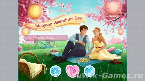 Mahjong  Valentine's  Day  [ENG]