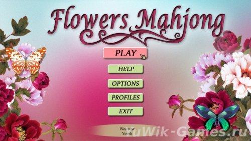 Flowers  Mahjong  [ENG]