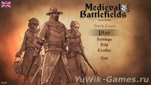 Medieval  Battlefields:  Black  Edition  [ENG]