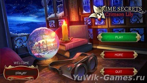 Crime  Secrets:  Crimson  Lily  -  прохождение  [wip]